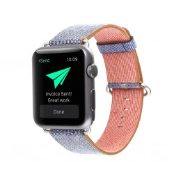 Fodral till iPhone 5 - Gummi/Hårdplast - Mörkblå