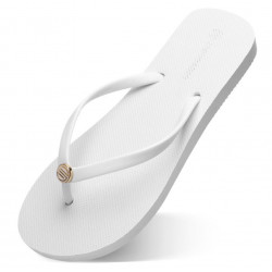 Flip-flops storlek 35 - vit