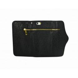 Zipper wallet case i6+
