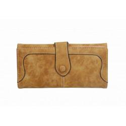 Läderfodral/plånbok Galaxy S3 inbyggt ställ - Vitt