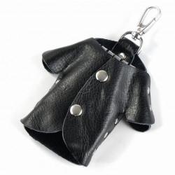 Nyckelhållare i äkta läder,...