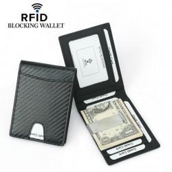 Rfid carbon wallet